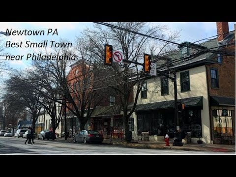 Newtown pa best small towns to live near philadelphia Best small town to live