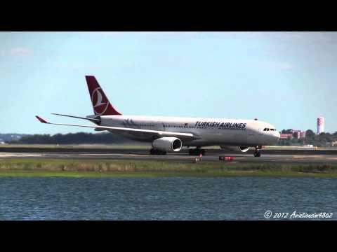 Inaugural Hainan Airlines Service Into Boston! Boston Airport Plane Spotting 6/21