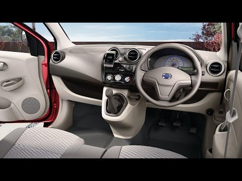 Nissan Datsun Go 2014 First Look India Launched