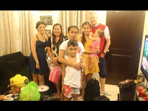 Vlog #442 - FILIPINO HOUSE PARTY - September 1st, 2014 - PinkieRiceLife