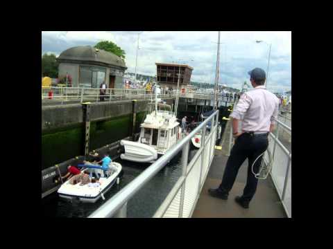 Salty Dog Maritime Marketing - Ballard Locks NW - Hiram M. Chittenden Locks