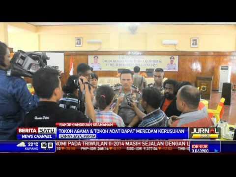 Redam Kerusuhan Papua, Tokoh Agama dan Adat Gelar Rapat
