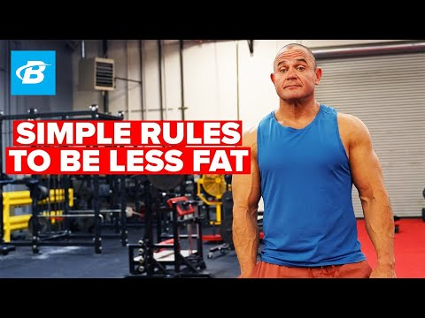 Simple Rules to Be Less Fat | Mark Bell