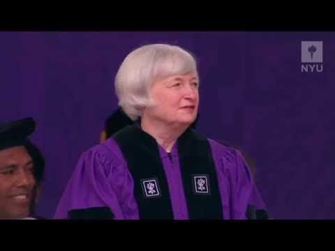 2014 Commencement Speaker: Janet Louise Yellen, Federal Reserve Chair