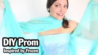 DIY Queen Elsa, Frozen Inspired Dress