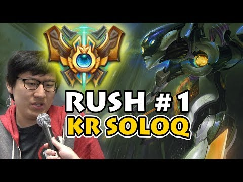 How Rush is TOP OF KOREAN SOLOQ LADDER | As CAMILLE Jungle Main | In Depth Guide and Analysis