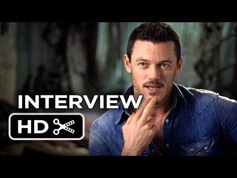 The Hobbit: The Desolation of Smaug INTERVIEW - Luke Evans (2013) - LOTR Movie HD