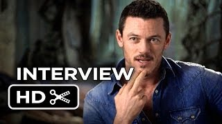 The Hobbit: The Desolation Of Smaug INTERVIEW Luke Evans