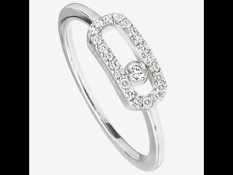 Messika White Gold Move Uno Ring 4705