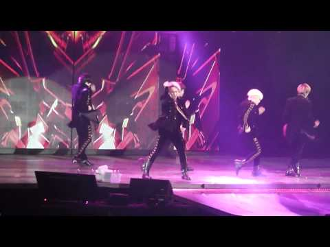 [FANCAM] 140406 SHINee en Chile - Everybody