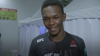 "UFC 234: Israel Adesanya - ""Foi bacana estar lá e lutar com ele"""
