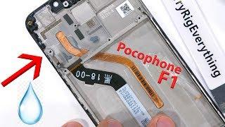 Pocophone F1 Teardown - I found LIQUID inside!