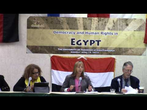 Democracy and Human Rights in Egypt - Medea Benjamin