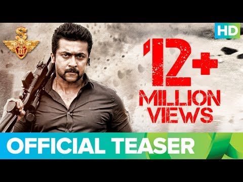 Singam 3 Official Teaser