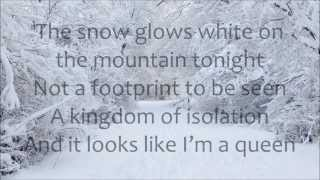 Demi Lovato Let It Go LYRICS (from Frozen)