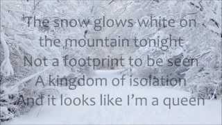 Demi Lovato Let It Go LYRICS (from Frozen)