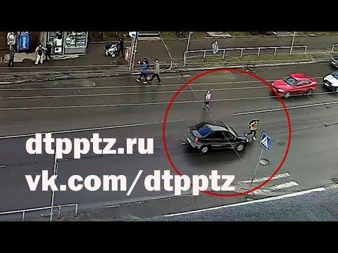 Госавтоинспекция разыскивает водителя, совершившего наезд на несовершеннолетнего пешехода на улице Мерецкова
