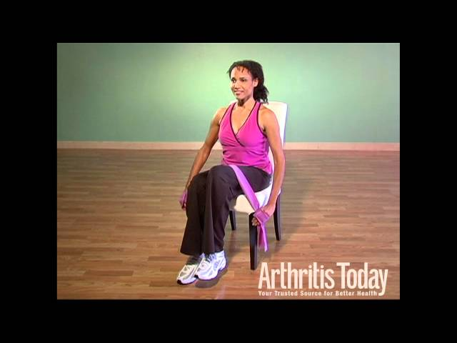 Seated Knee Lift