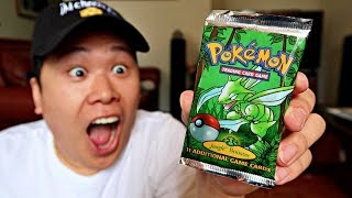 Unboxing Original 1999 Pokemon Cards - Worth $1,200 Dollars