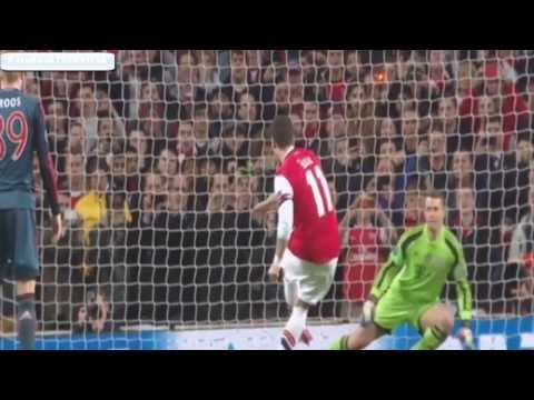 [HD] Mesut Özil Miss Penalty Goal | FC Arsenal vs FC Bayern Munchen [19-02-2014]