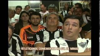Atleticanos do Sul de Minas v�o �s ruas comemorar  t�tulo