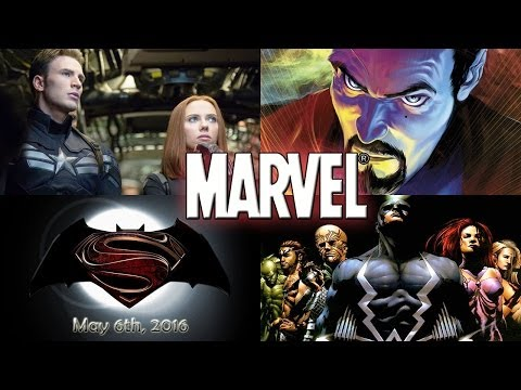 Massive Marvel Update: Doctor Strange, Batman/Superman Faceoff & More!