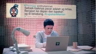 Video klip Vidi Alviano di lagu Lupakan Mantan lucu abis :)) Ada Poconggg alias Arief Muhammad sama Radityadika sebagai modelnya klipnya