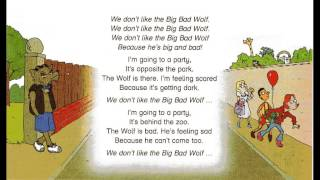 The big bad wolf, song for children