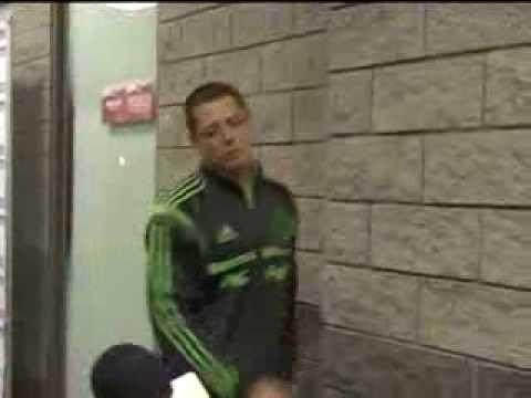 Javier 'Chicharito' Hernández no pudo hacer declaraciones por su lesión