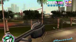 Como Conseguir El Helicoptero Hunter En GTA Vice City (Pc