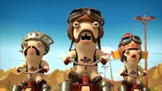 Rabbid Invasion - Biker zajac