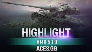 Французский Скалолаз. AMX 50 B