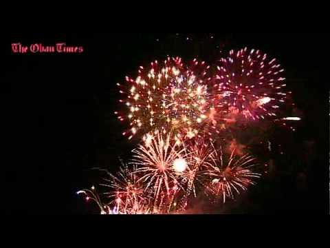 Oban community fireworks fiasco