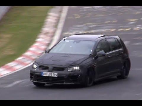 Nowy Golf R przyłapany na Nürburgringu