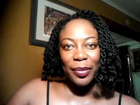 CRAZY WICKED Rod Set Crochet Braids with Marley Hair :-) - YouTube
