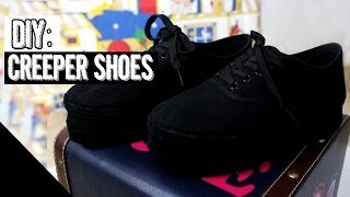 DIY: Platform Shoes