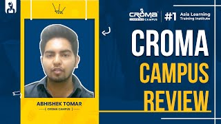 Abhishek Tomar's Placement @ Croma Campus