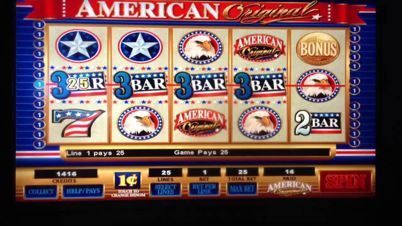 american original slot machine app