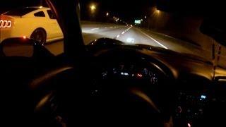 2013 Shelby GT500 Vs Nitrous Corvette Z06. Blows Motor