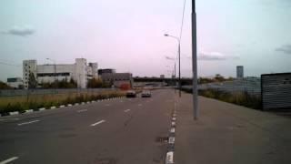 Городской заезд BMW 325 Xdrive c двигателем N52B25 и Pontiac Bonneville 4.2