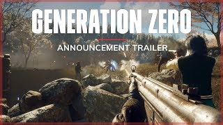 Generation Zero - Bejelentés Trailer