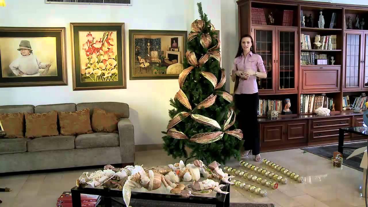 Decoraci n de rboles de navidad 2011 de prati youtube - Como adornar mi arbol de navidad ...