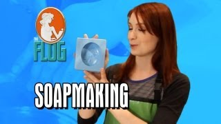 Felicia Day Makes Soap!