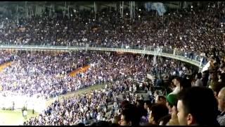 Torcida do Cruzeiro faz um minuto de sil�ncio em respeito � m�e de Marcelo Oliveira