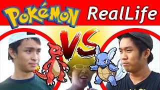 THE REAL LIFE POKEMON BATTLE OLD EDITION, NEW VERSION IN THE DESCRIPTION! POKEMON GO CHEAT