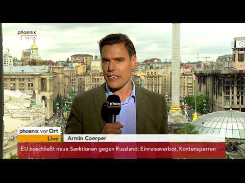 Referendum Ost-Ukraine: Armin Coerper mit aktuellen Informationen am 12.05.2014