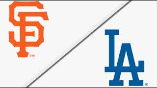 San Francisco Giants vs Los Angeles Dodgers | Full Game Highlights | 4/1/18