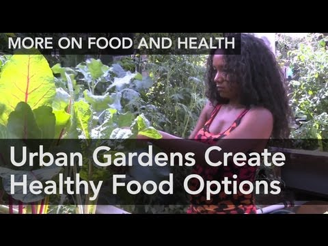 Urban Gardens Create Healthy Food Options