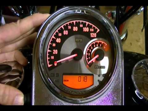 diy wiring harness how to configure and setup the harley davidson speedometer  how to configure and setup the harley davidson speedometer