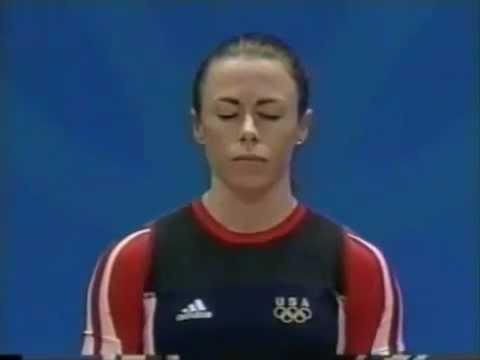 Tara Nott Olympic Gold Medal Lifts, 82.5kg snatch & then 102.5kg Clean & Jerk, 48kg Weight Class